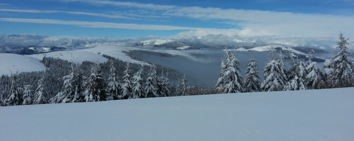 Mount Grappa - winter holiday in Italy